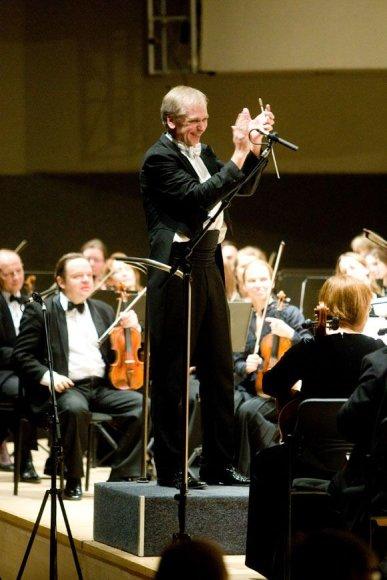 Maestro Gintaras Rinkevičius