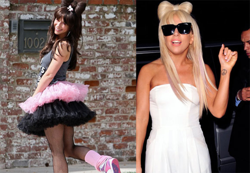 Jennifer Love Hewitt ir Lady GaGa