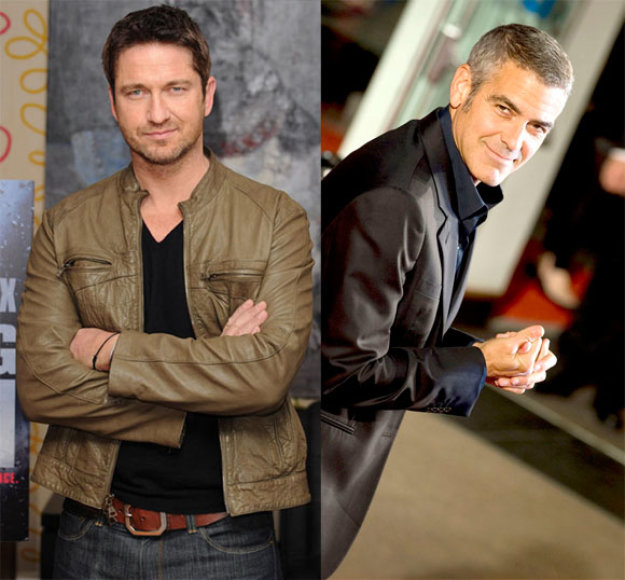 Gerardas Butleris ir George'as Clooney