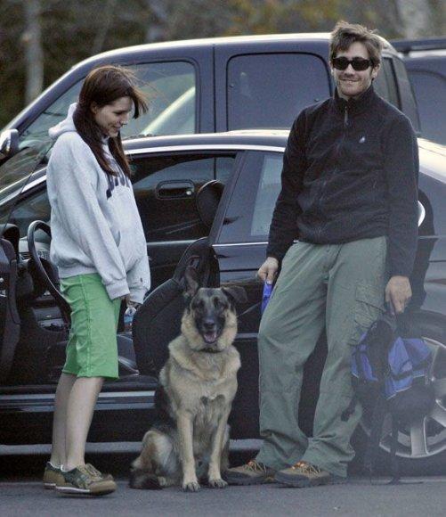 Kirsten Dunst ir Jake'as Gyllenhaalas
