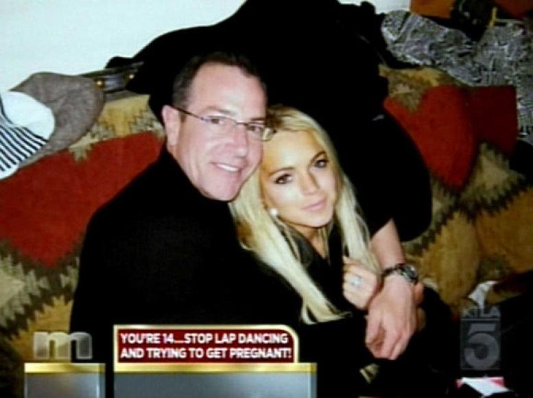 Lindsay Lohan su tėvu