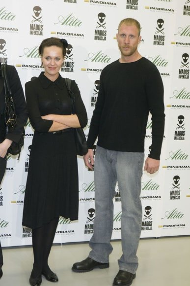 Meda Jonaitytė su vyru