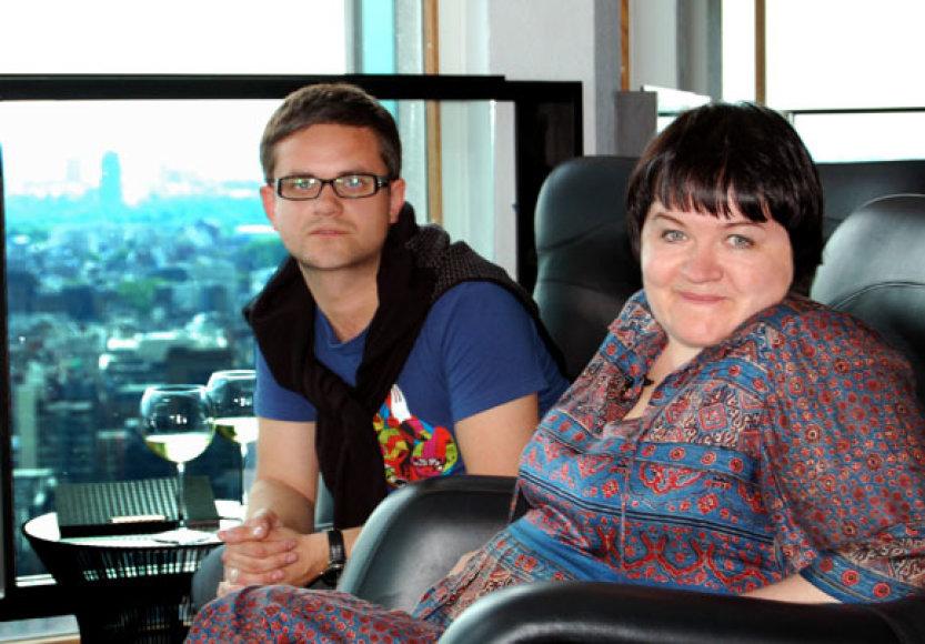 Edvardas Žičkus ir Dalia Ibelhauptaitė