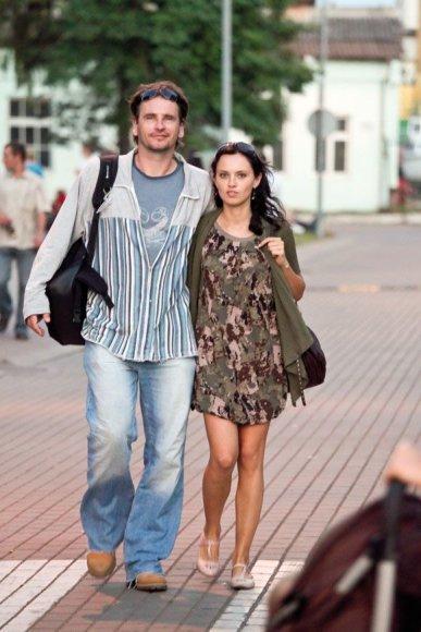 Marijus Mikutavičius ir Justina Ragauskaitė