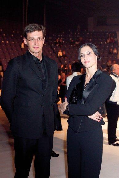 Modestas Pitrėnas ir Ieva Prudnikovaitė