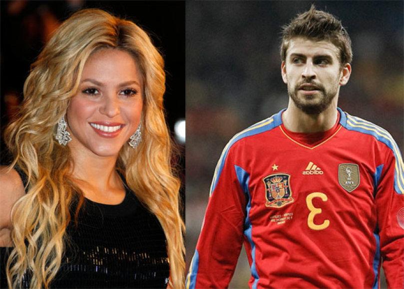 Shakira ir Gerardo Pique