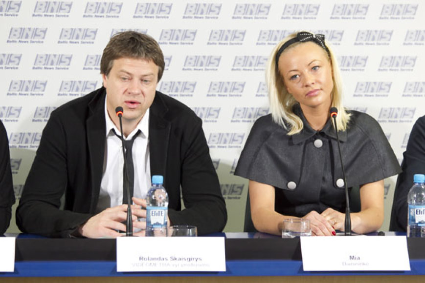 Rolandas Skaisgirys ir Vilija Pilibaitytė-Mia