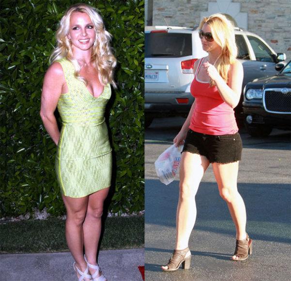 Britney Spears dabar ir anksčiau