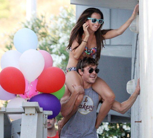 Ashley Tisdale ir Zacas Efronas