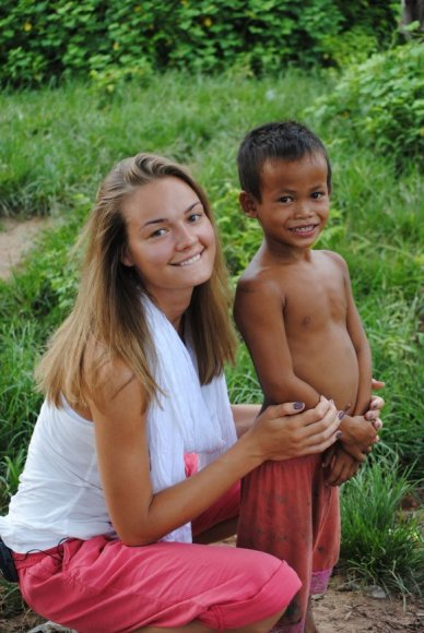 Jurgita Jurkutė Kambodžoje