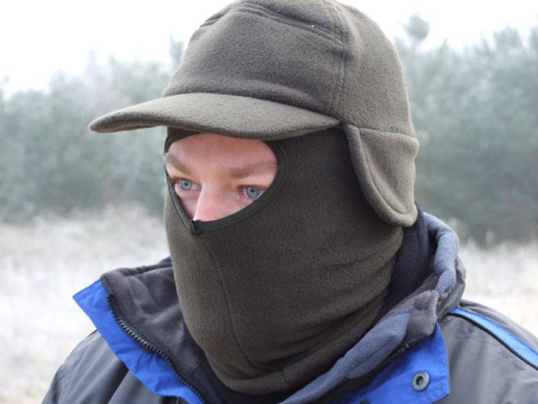 Veido kaukė iš minkšto, tačiau neperpučiamo audinio – meškeriotojo palydovas ekstremaliose situacijose