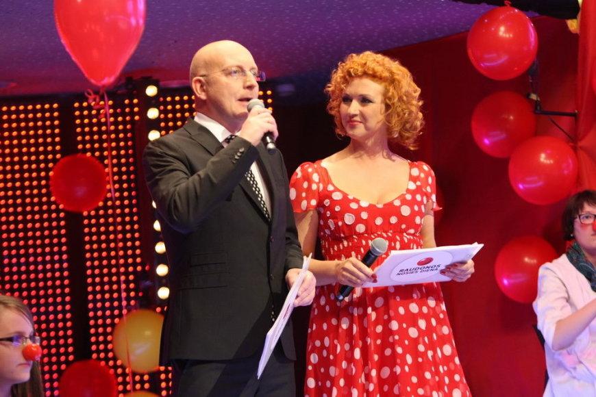 Asta Stašaitytė-Masalskienė ir Arūnas Valinskas