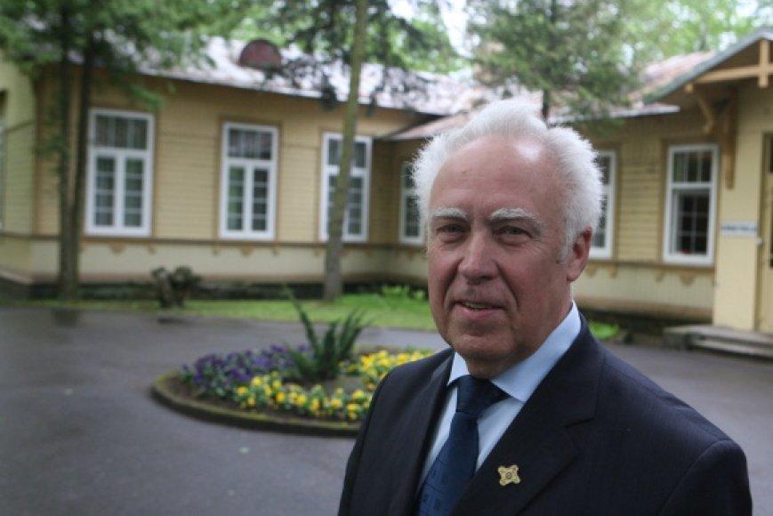 Anot G.Rimdeikos, didžiausia Sapiegos ligoninės problema yra ta, kad ji stovi per daug geroje vietoje.