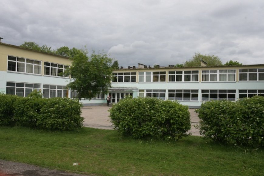 Mindaugo vidurinės mokyklos teritorija užteršta sunkiaisiais metalais.
