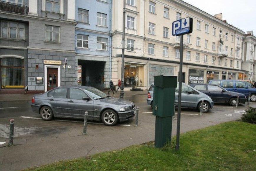 Iki 6 Lt už valandą pabrangęs stovėjimas Vokiečių gatvės itin neištuštino.