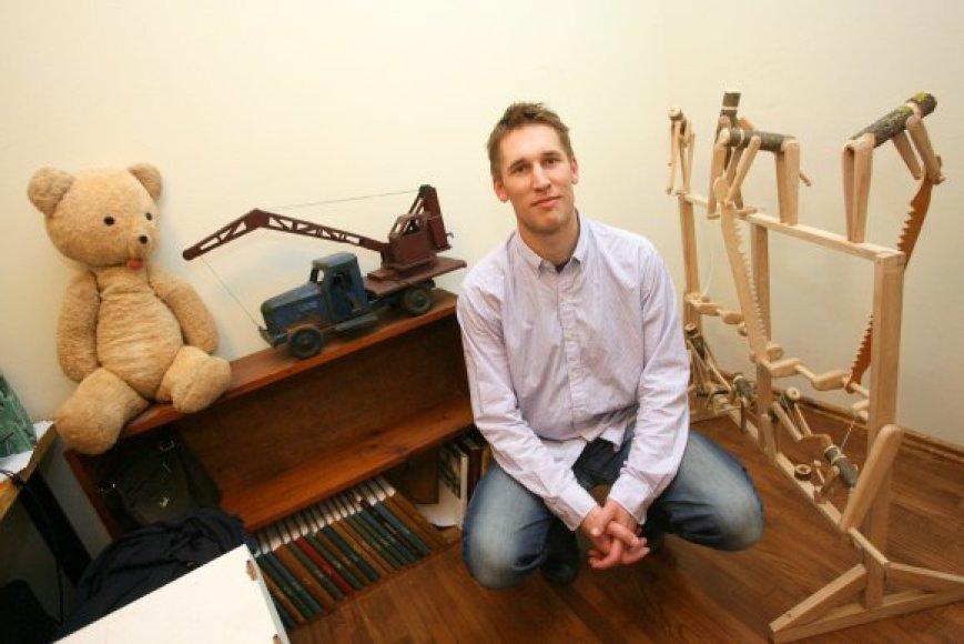 P.Blaževičiaus teigimu, kol kas būsimojo muziejaus kolekcijoje dominuoja XX a. eksponatai, tačiau atsiras ir archeologinių radinių, susijusių su žaislais ir žaidimais, kopijų.