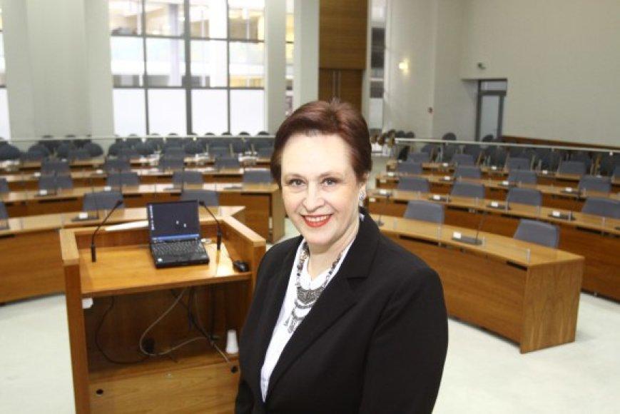 V.Podolskaitė teigė esanti verta užimti aukštą postą Vilniaus taryboje, nes sulaukė didelio rinkėjų palaikymo.