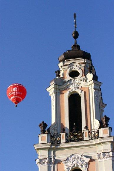 Vilniuje skraidyti oro balionais patogu, mat miestas nedidelis, lėktuvų nedaug, šalia nėra jūros.