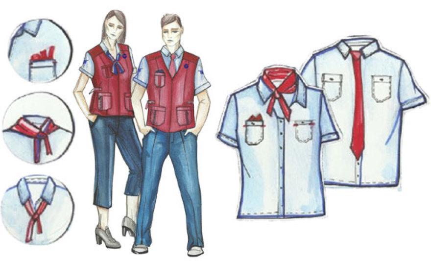 Taip galėtų atrodyti sostinės troleibusų vairuotojų uniformos.
