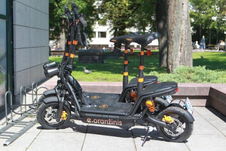 Elektriniai dviračiai turėtų išriedėti į Vilniaus gatves jau netrukus.