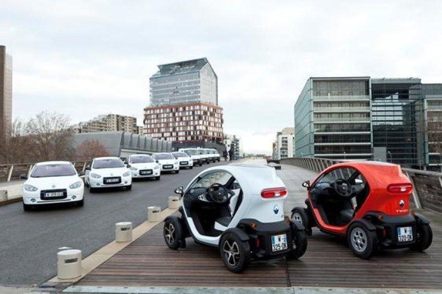 """Renault Z.E."" elektromobilių bandymo centro atidarymas"