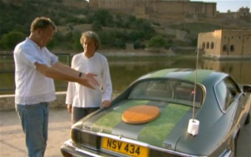 """Top Gear"" Indijoje"