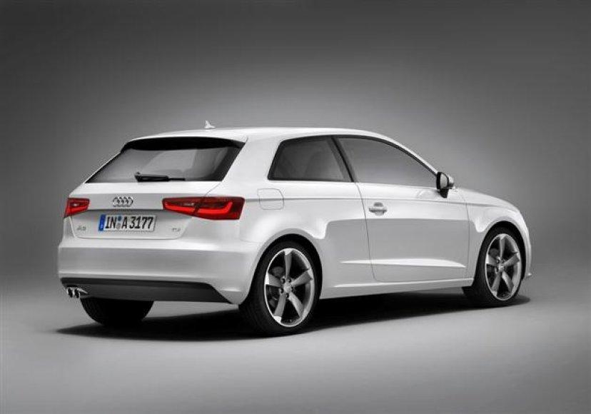 """Naujos kartos """"Audi A3"""""""
