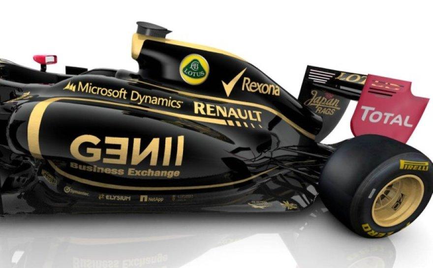 """""""Lotus F1"""" bolidas"""