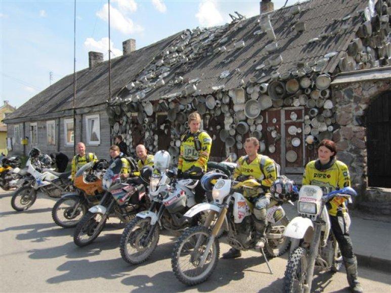 """Žygis motociklais """"Aplink Lietuvą 2010"""": trečioji diena"""