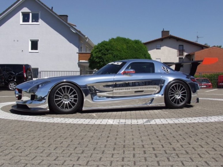"""Mercedes-Benz SLS AMG GT3 by Laureus Design"""