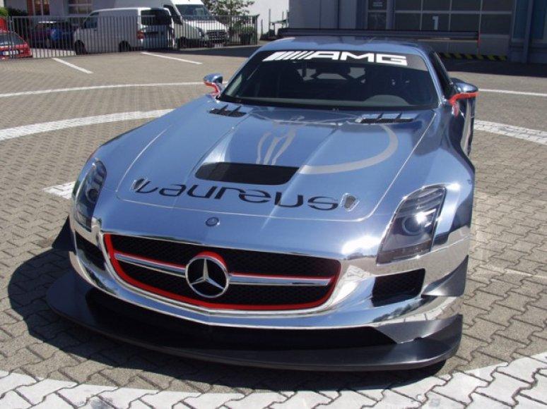 """Mercedes-Benz SLS AMG GT3 by Laureus Design"""