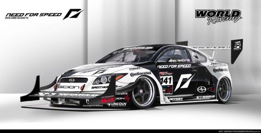 """Need for Speed"" komandos 1100 Ag ""Scion Tc"""