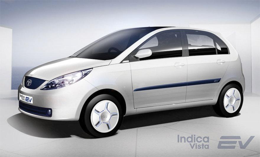 """Tata Indica Vista"" elektromobilis"