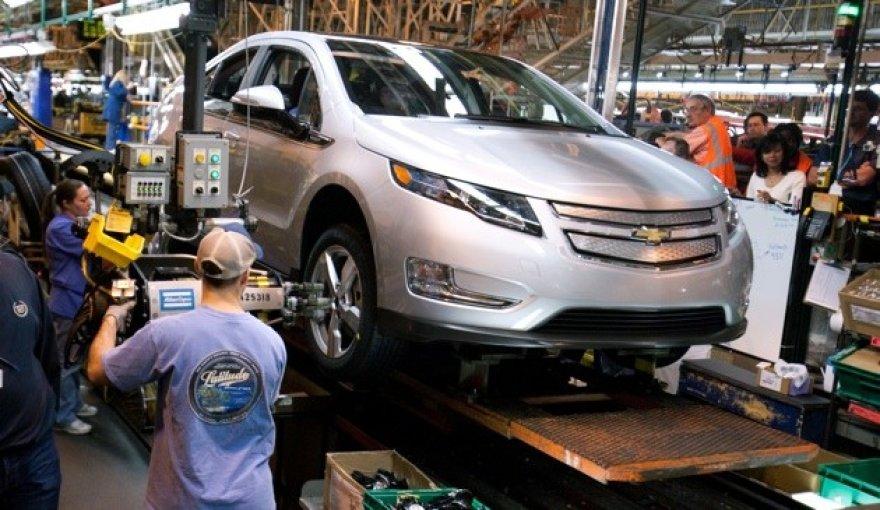 """""""Chevrolet Volt"""" gamyba prasidės lapkritį"""