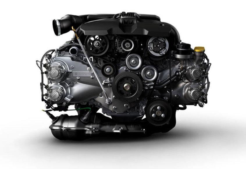 """""""Subaru"""" trečios kartos opozicinis """"boxer"""" variklis"""