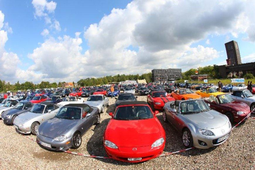 """Mazda MX-5"" pasaulio rekordas"