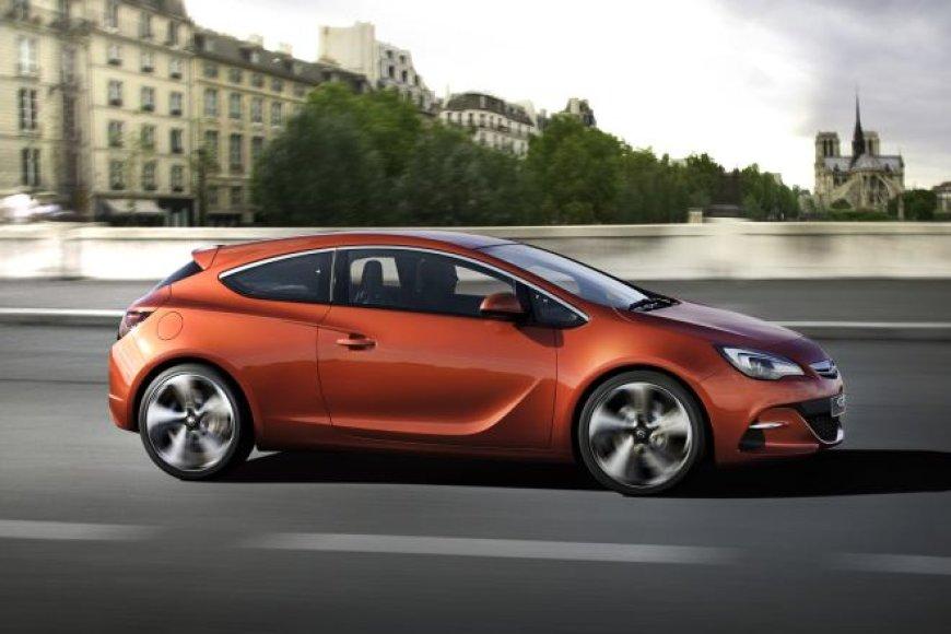 """Opel Astra GTC Paris"" koncepcinis modelis"