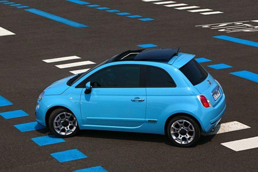 """Fiat 500"" su ""TwinAir"" dviejų cilindrų varikliu"