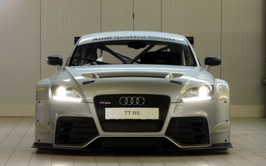 """Audi TT RS DTM"" sukurtas užkariauti Niurburgringą"