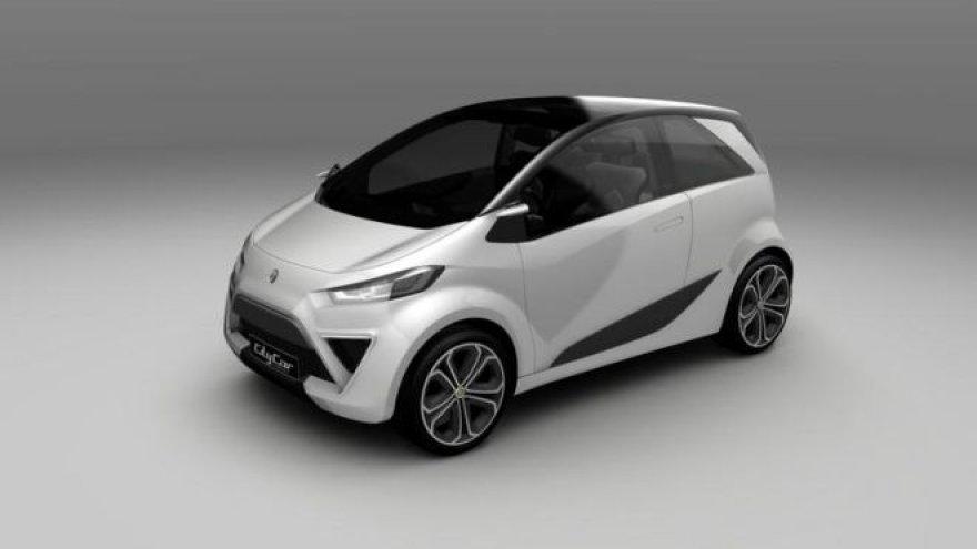 """Lotus City Car"" konceptas"