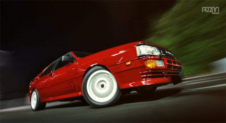 """Sena, bet pikta – """"Audi UR–Quattro"""""""