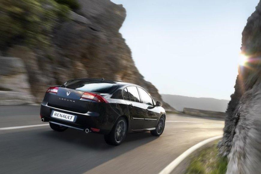 """Atnaujinta """"Renault Laguna"""""""