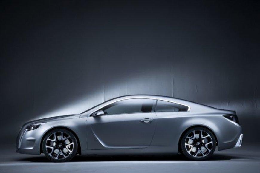 """""""Opel Gran Turismo Coupe"""" koncepcija"""