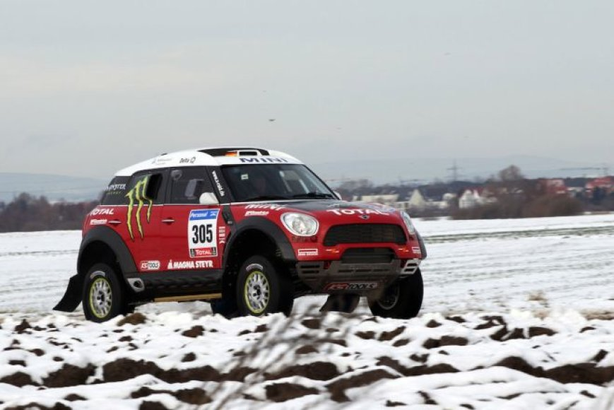 """MINI X-Raid Countryman All4"""