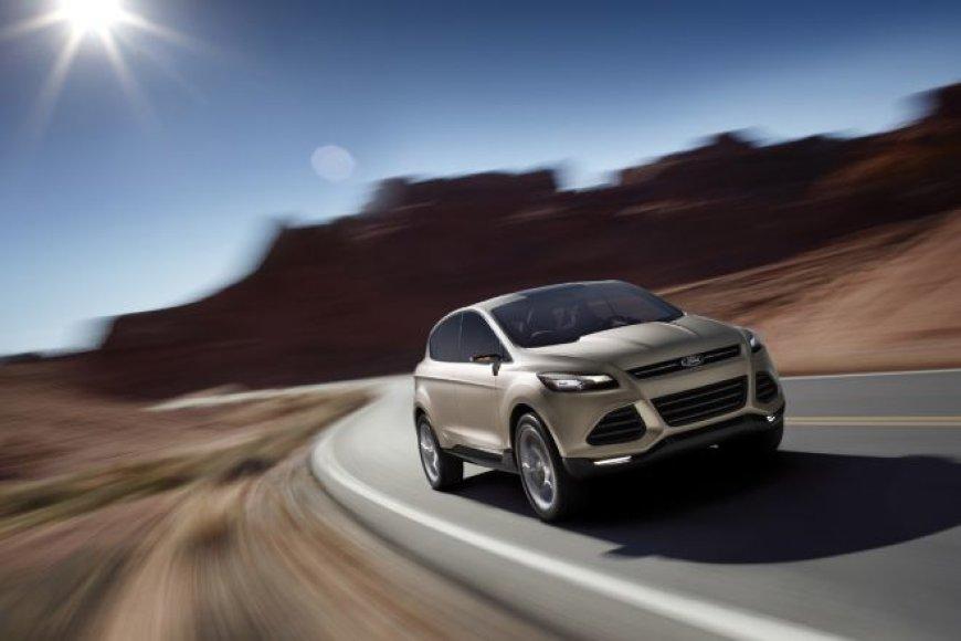 """""""Ford Vertrek"""" koncepcija yra pirmoji užuomina į naują """"Kuga"""""""