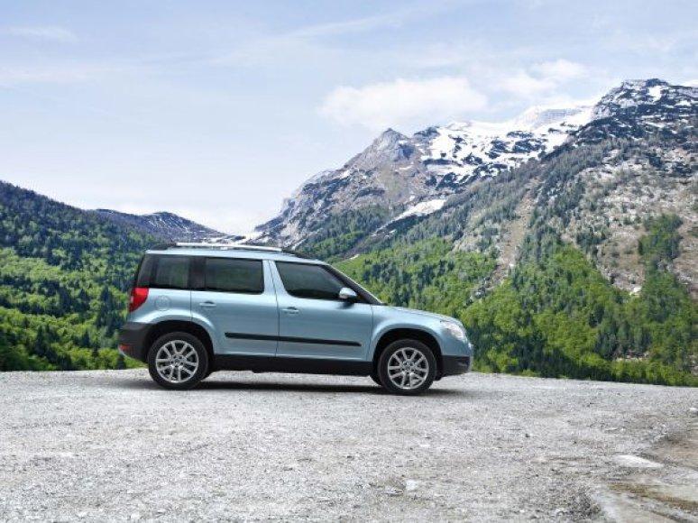 """""""Škoda Yeti"""" yra tarsi šveicariškas peiliukas tarp automobilių"""
