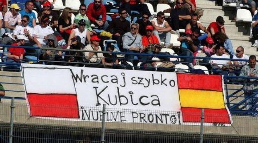 Roberto Kubicos gerbėjai laukia jo sugrįžimo