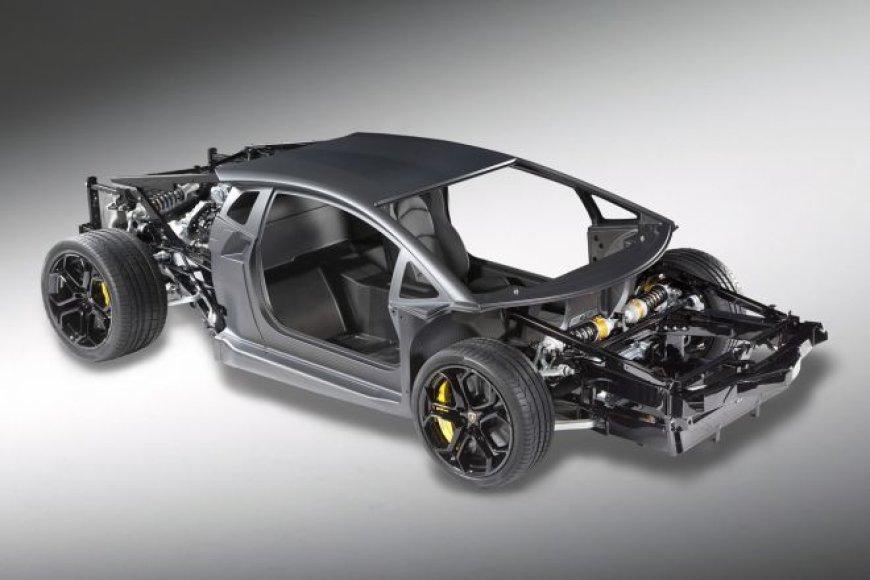 """Lamborghini Aventador"" komponentai"