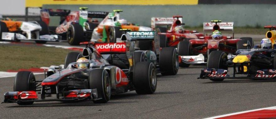 """""""Formulės-1"""" Kinijos GP lenktynės"""