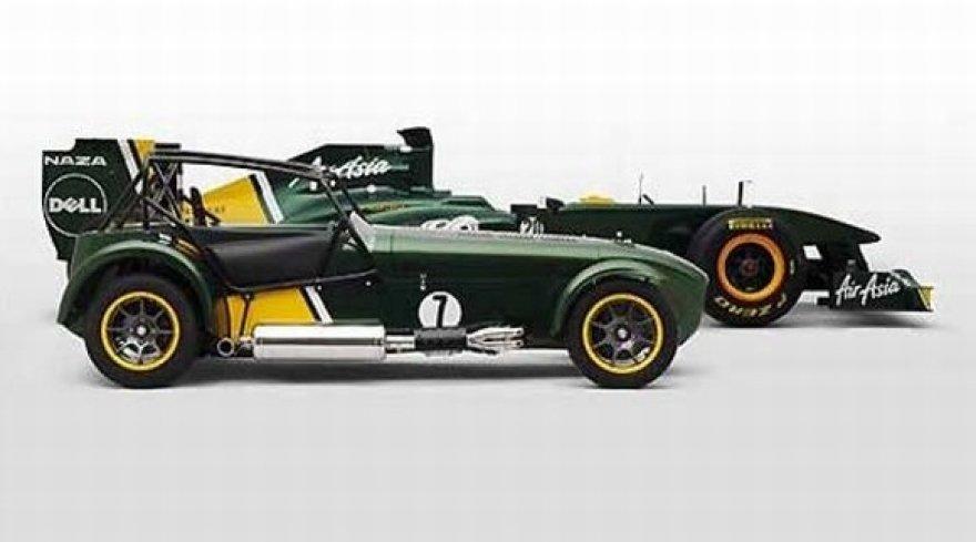 """Caterham Cars"" ir ""Team Lotus"" F-1 bolidas"